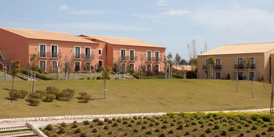 Residential complex in the sicilian countryside
